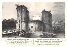 Belgium Feodaal Kasteel van Beersel Chateau Feodal Castle Bruxelles