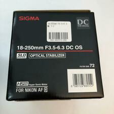Nikon Thank you Sigma 18-250mm F3.5-6.3 DC OS HSM for  JAPAN F/S