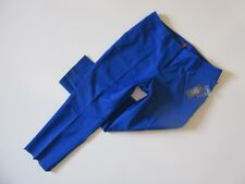NWT Vince Camuto Front Zip Ankle in Core Blue Stretch Cotton Crop Pants 18W