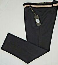 LIZALU' pantalone donna taglio classico dritto nero TG.54 F333AI15138