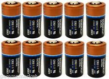 10 pile  batterie CR2  DURACELL  3 Volt   Litio  bulk