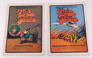 Pacific Comics Club Flash Gordon LOT 2 Vintage 1981 Comics DC Book Rare Old