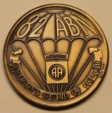82nd Airborne Division America's Guard ser#3084 Army Challenge Coin