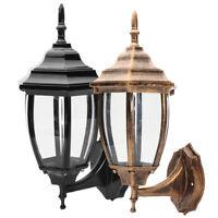 Aluminum Wall Light Lamp Fixture Garden Outdoor Porch Patio Lantern Decor Lights