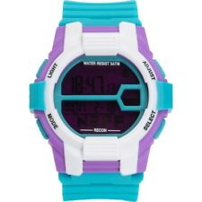 New Neff Recon Digital Wrist Watch Teal Purple