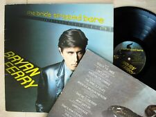 Bryan Ferry The Bride Stripped Bare + Inner UK LP Polydor POLD 5003 1978 EX/EX+