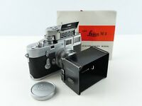 LEICA M3 DOUBLE STROKE 35MM FILM RANGEFINDER CAMERA WITH 50MM F2 SUMMICRON LENS