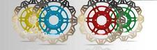 EBC Front Green Vee Rotor Brake Disc For Kawasaki 2016 Ninja 300 VR4166GRN