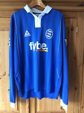 "Birmingham City shirt 2003/4 Robbie Savage #8 rare long sleeves 46/48"" vgc"