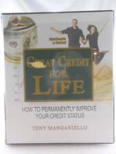 Great Credit For Life Tony Manganiello Higher Credit Score Ships Fast NEW!