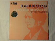 LEONARD BERNSTEIN Berlioz: Harold in Italy lp UK