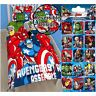 AVENGERS BATTLE SINGLE DUVET COVER SET + FREE AVENGERS FOIL STICKERS NEW