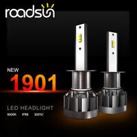 H1 LED 72W Scheinwerfer CSP Nachrüstsatz Birnen Lampe Abblendlicht/Fernlicht 2X