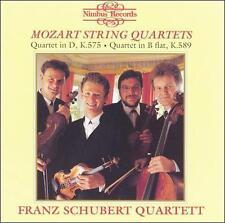 Mozart: String Quartets, K575 & K589 (CD, Jul-2007, Nimbus)
