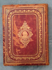 Antique Leather Cover Imperial Shakespeare - Volume I & II - VERY RARE Books!