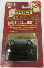 1991 Matchbox World Class #21 Mercedes Benz 500 SL. New.