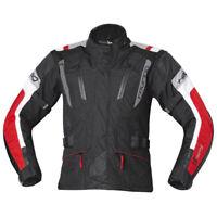 Held 4-Touring Textile Ladies Waterproof Motorcycle Motorbike Jacket Black Red