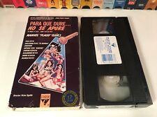 Para Que Dure...No Se Apure Mexican Sex Comedy VHS 1988 Flaco Ibanez Mexi 80's