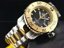 Invicta Men 50mm Grand Diver Propeller Automatic Two Tone Gold Black 300m Watch