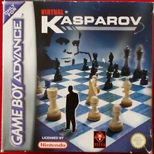 Nintendo GameBoy Advance-GBA ► virtual Kasparov ◄ OVP