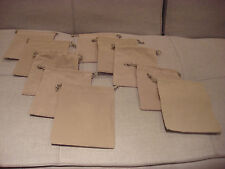 5 x 7 Grey Draw String Jewelry Bags From Norsdtrom 10 Pack