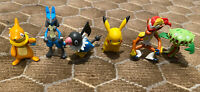 LOT Pokemon Jakks figure / PIKACHU LUCARIO INFERNAPE