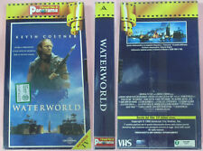 VHS film WATERWORLD Kevin Costner Reynolds SIGILLATA PANORAMA (F29) no dvd