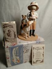 "Jan Hagara 1996 ""Ricky"" from The Georgetown Series Figurine #1368 of 6000"