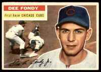 1956 Topps Set Break2 EX Mt (Gb) Dee Fondy Chicago Cubs #112