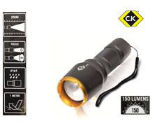 CK CREE LED Hand Torch / Flash Light 150 Lumens - 3 Lighting Modes - T9520