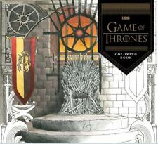 Game of Thrones Adult Coloring Book HBO October 2016