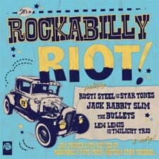 It's A Rockabilly Riot Volume 1 CD - Jack Rabbit Slim, Sharna Mae, Bullets - NEW