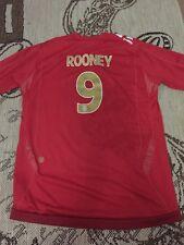 England Football shirt for boys size XLB 14-15 years #9 Rooney umbro