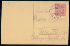 Austria 1910s Wien Postal Stationery Card