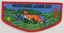 OA Lodge 221 Muscogee S11 Flap; BRN arrow; CD; CB  [H205]