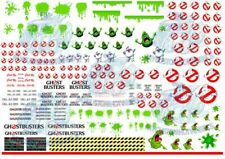 Ghostbusters Decal Pack | ECTO-1 Livery for Hot Wheels & 1:64 Scale Diecast Cars