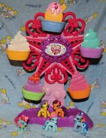 My Little Pony Ponyville Ponies with Ferris Wheel Lot