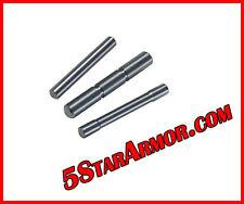 Stainless Steel 3 Pin Set for Glock 17 19 20 21 22 23 26 27 34 35 37 38 Gen 1-3