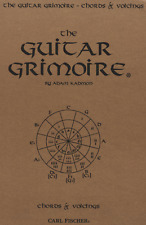 """The Guitar Grimoire-Chords & Voicings"" Chord Chart/Diagrams Music Book-New-Sale"