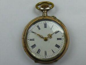 GALONNE Damen Taschenuhr 800er Silber ca. 1900 Uhr läuft