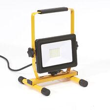LED Baustrahler 30W Arbeitsleuchte Flutlicht Arbeitsstrahler Baulampe Fluter