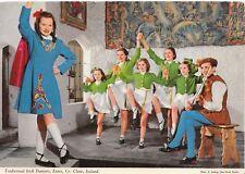 Ireland Postcard - Traditional Irish Dancers - Ennis - Co Clare - Ref AB2941