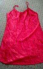 Jennifer Moore women's red spaghetti strap pajama top