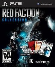 RED FACTION COLLECTION PS3 ACT NEW VIDEO GAME