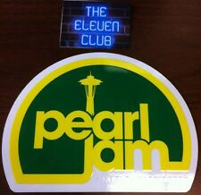 Pearl Jam Sticker Vinyl Decal Rare Club Space Needle Seattle WA MINT LP CD Art
