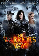 THE WARRIOR'S WAY NEW DVD IN ORIGINAL SHRINK WRAP! DISC AND CASE ALL INCLUDED!