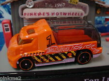 2013 DEMOLITION DERBY Design Ex RAPID RESPONSE☆Orange☆New LOOSE☆Hot Wheels