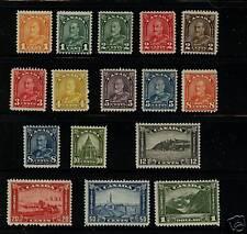 Canada  162-177   Mint  catalog  $558.00
