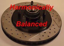 Fits F150 Lightning Drilled Slotted Brake Rotors Harmonically Balanced Front