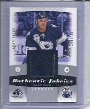 2010-11 SP GAME USED ADAM OATES FABRICS JERSEY